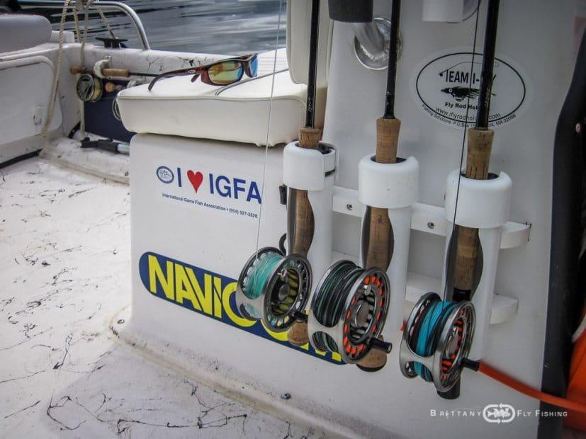 Bateau Special Pêche du Bar à la Mouche
