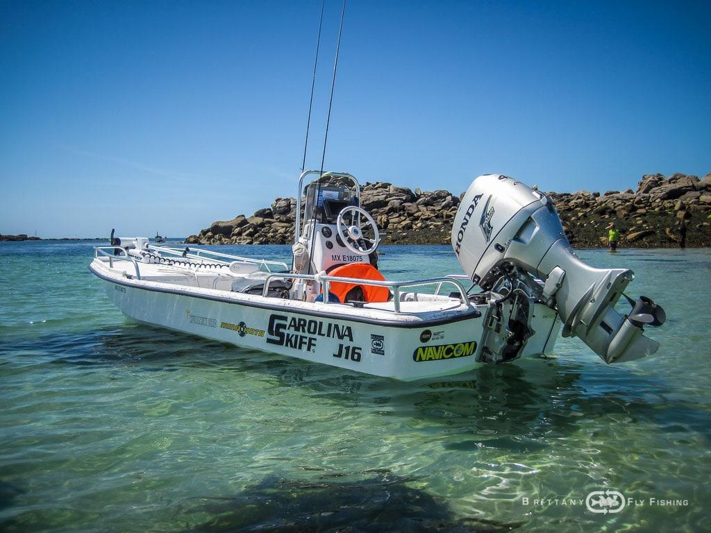 Bateau Special Pêche du Bar à la Mouche | Brittany Fly Fishing