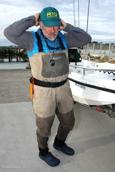 Pêche à la mouche en mer en Bretagne