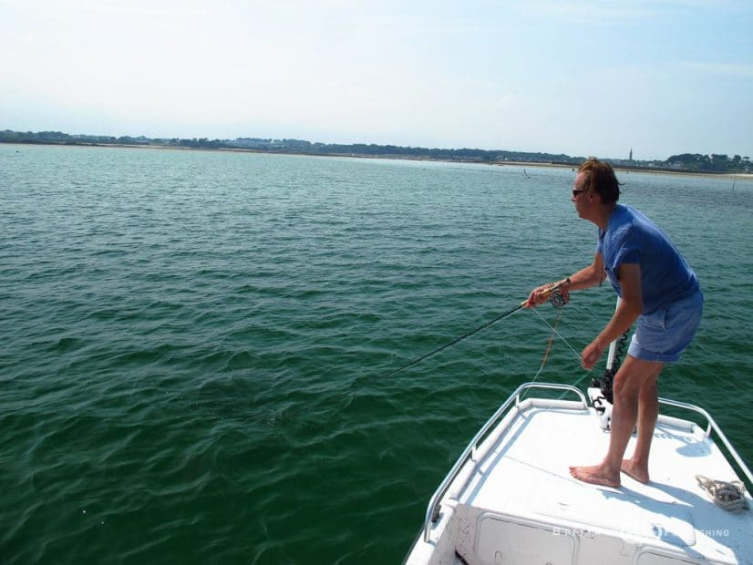 Bateau spécial Pêche à la mouche en mer
