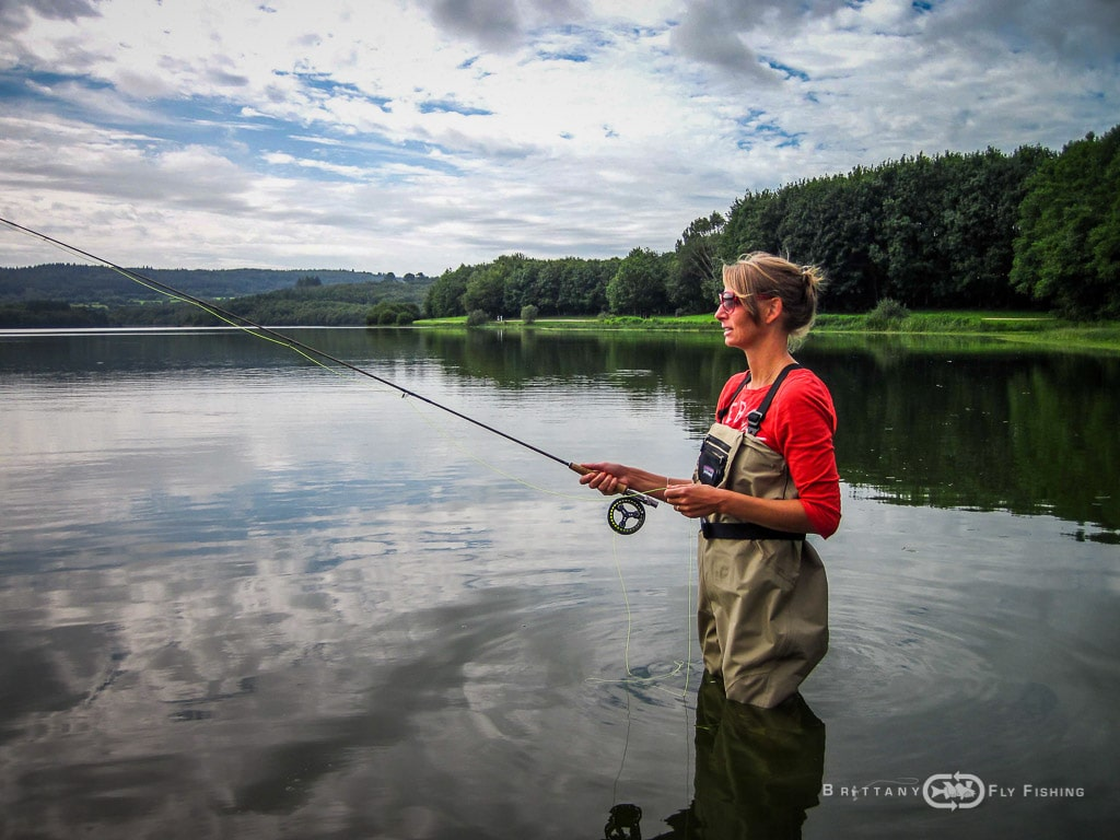 Trout fly fishing tuition