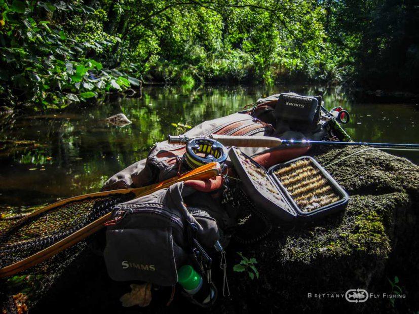 Matériel pêche à la mouche en eau douce