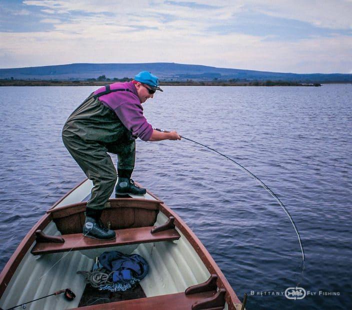 Pêche du brochet à la mouche