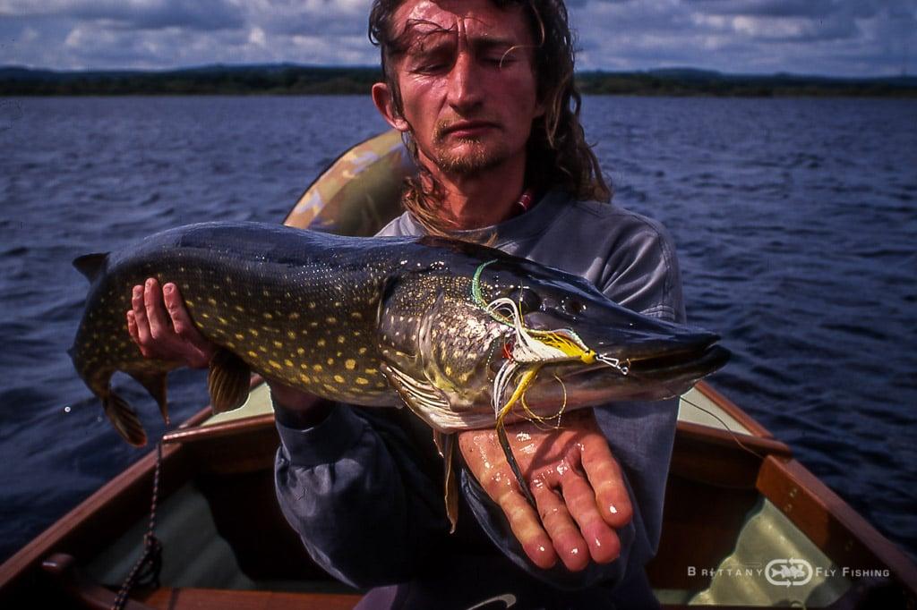 Pêche du brochet à la mouche | Brittany Fly Fishing