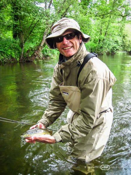 Pêche à la mouche sur l'Elorn