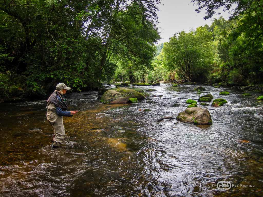 Pêche à la mouche sur le Léguer   Brittany Fly Fishing
