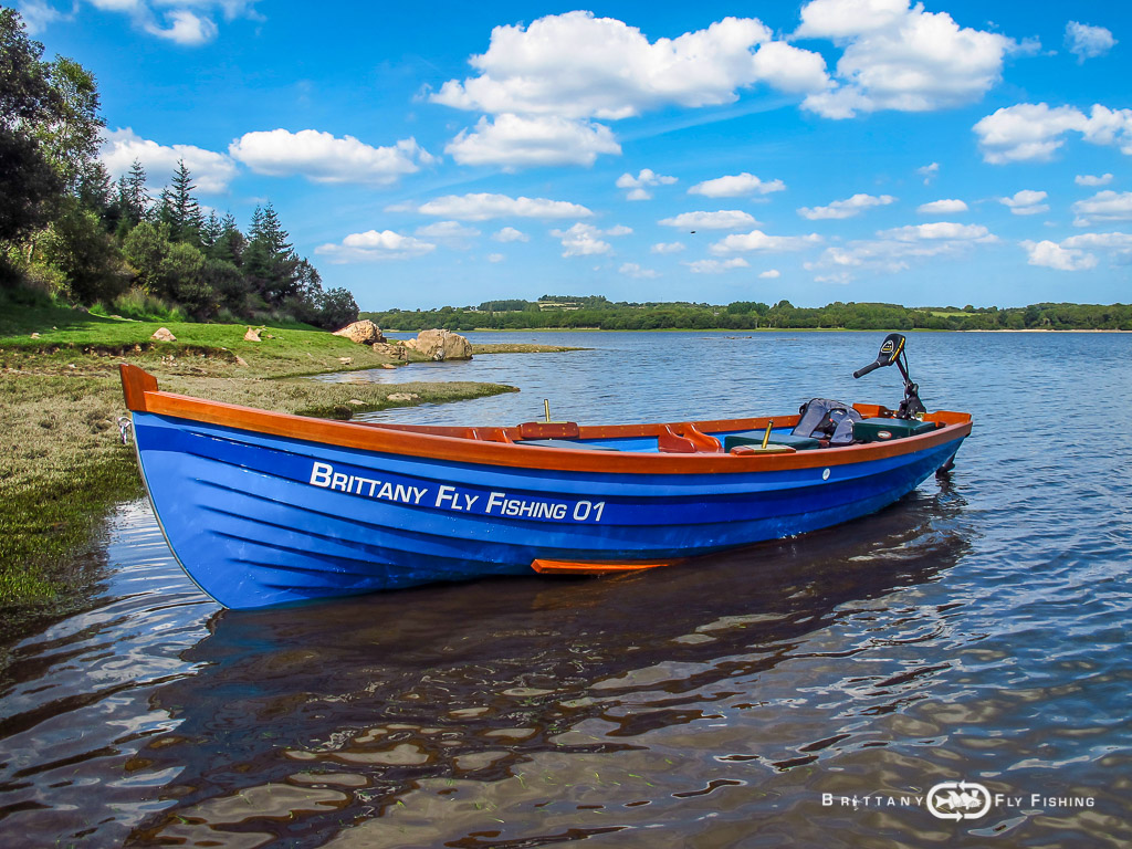 Barque irlandaise Sheelin 15'  – Brittany Fly Fishing