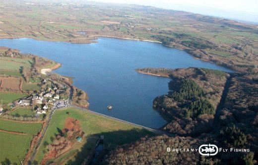 Le Lac du Drennec en Finistère