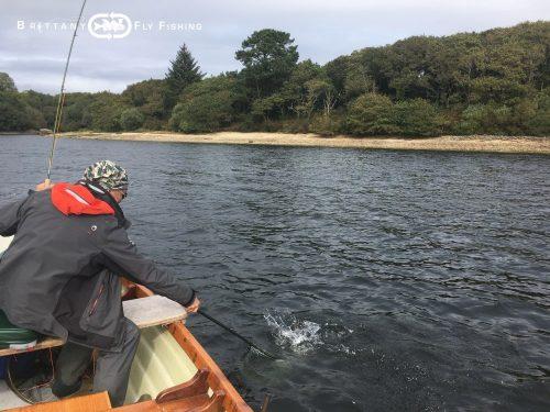 pêche en lough style sur le Drennec