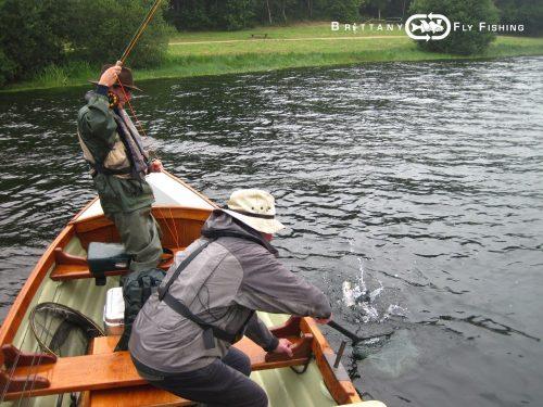 la pêche en Lough style