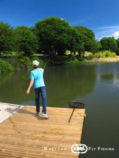 stage pêche mouche en Bretagne