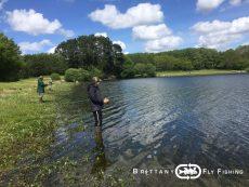 Stage pêche mouche en Finistère