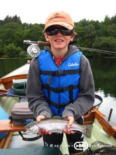 Stage pêche mouche sur le Lac du Drennec