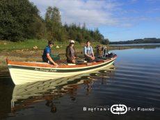 Stage pêche à la mouche sur le Lac du Drennec