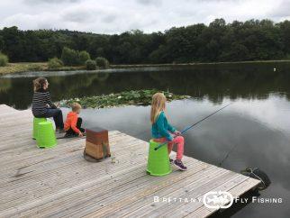 Apprendre la pêche à la mouche aux plus jeunes