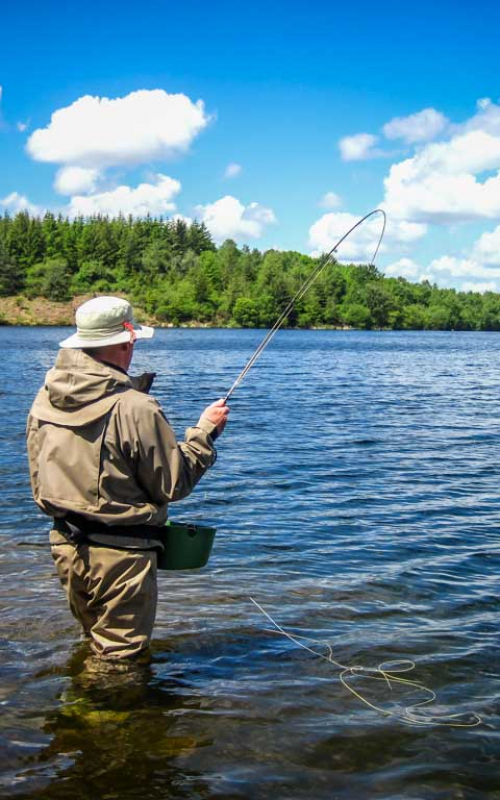 Perfectionnement Pêche en lac | Brittany Fly Fishing