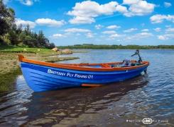La nouvelle barque irlandaise de location est arrivée