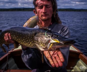 Pêche du brochet à la mouche   Brittany Fly Fishing